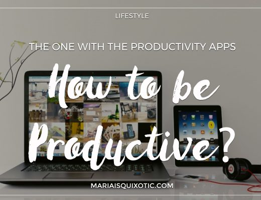 The One with the Productivity Apps | How to be Productive?