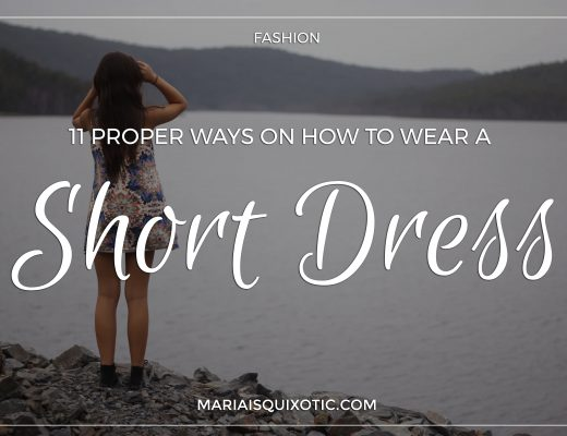 11 Proper Ways On How To Wear A Short Dress