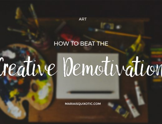 How to Beat the Creative Demotivation